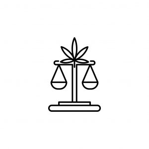 balance, weigher, marijuana outline icon. Can be used for web, logo, mobile app, UI, UX